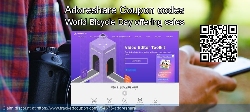 Adoreshare Coupon discount, offer to 2020 New Year