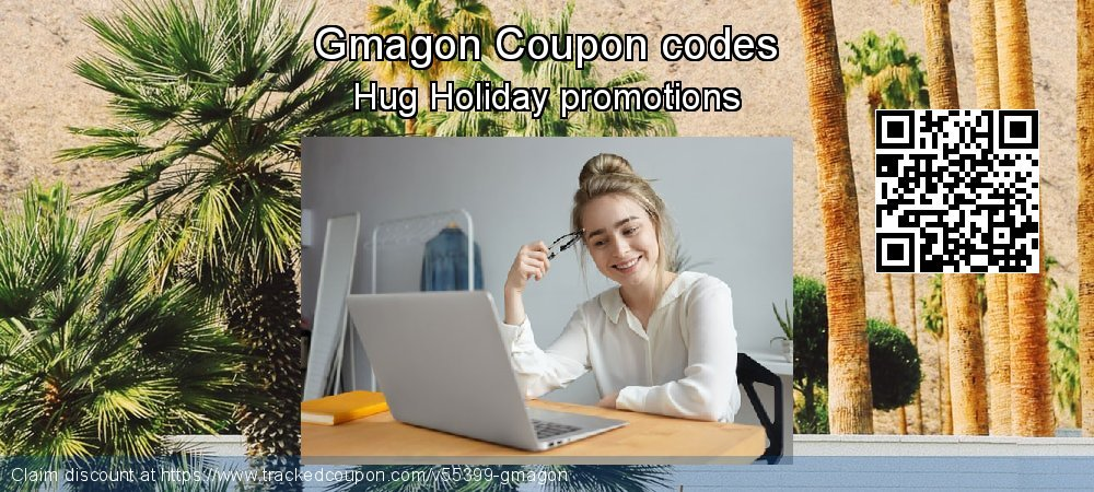 Gmagon Coupon discount, offer to 2018 Christmas & New Year
