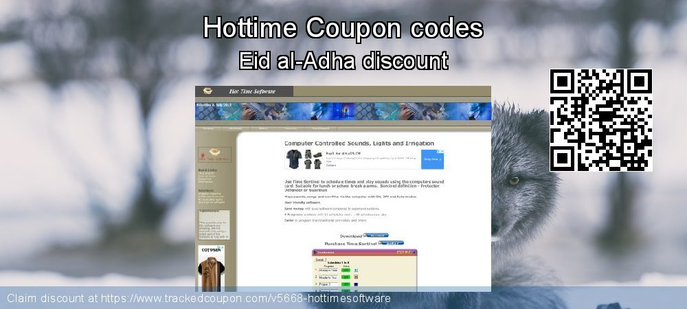 Hottime Coupon discount, offer to 2021