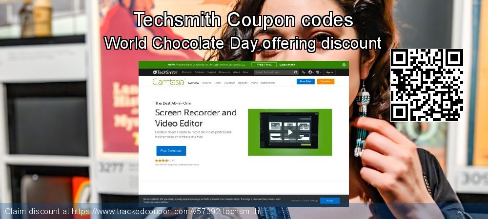 Techsmith Coupon discount, offer to 2021