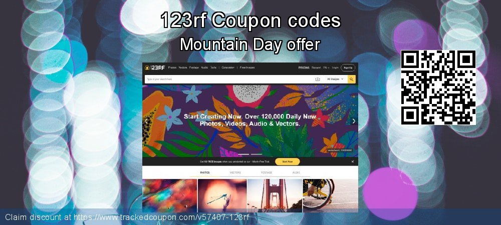 123rf Coupon discount, offer to 2021