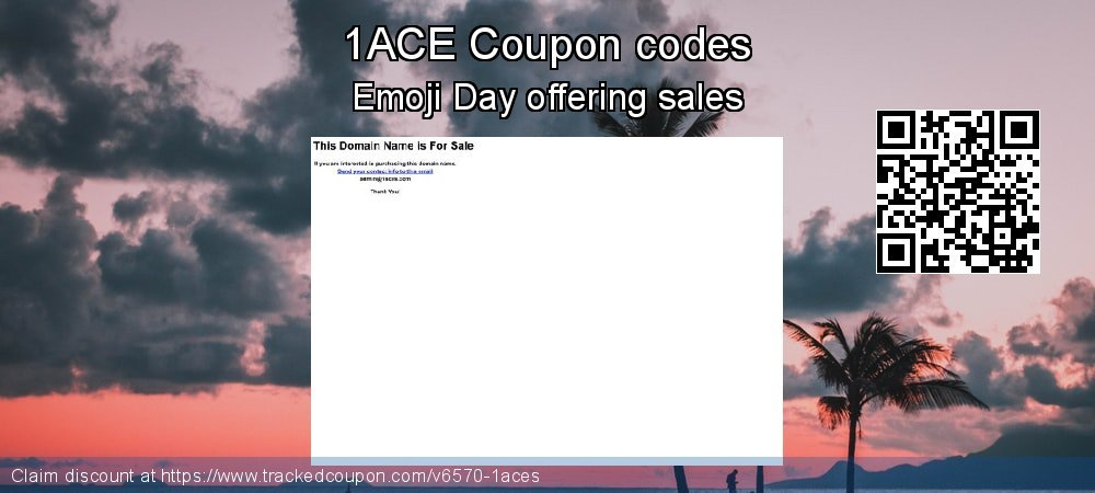 1ACE Coupon discount, offer to 2020