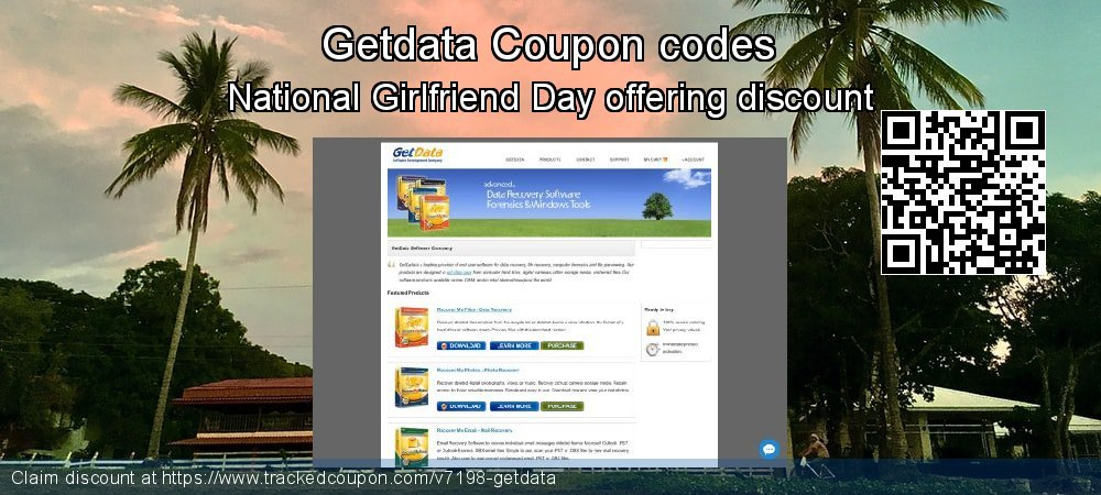 Getdata Coupon discount, offer to 2021