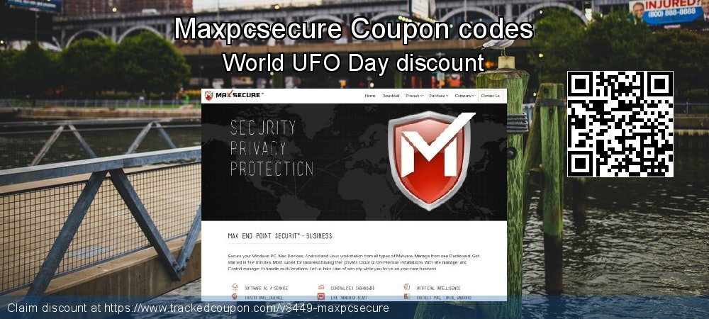 Maxpcsecure Coupon discount, offer to 2020