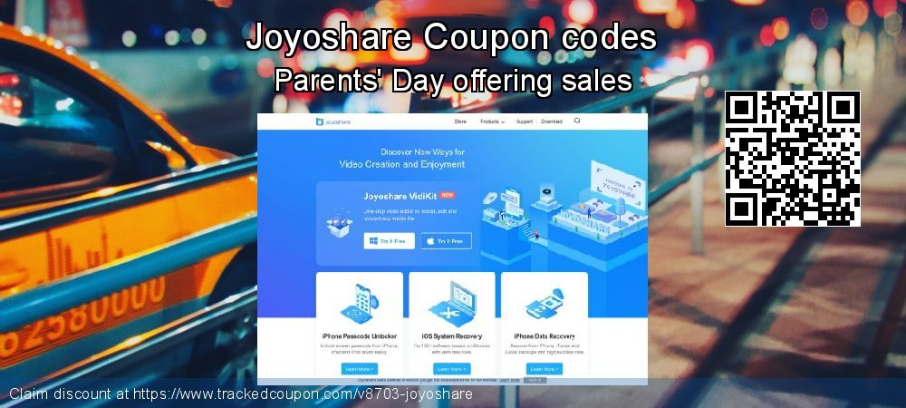 Joyoshare Coupon discount, offer to 2021