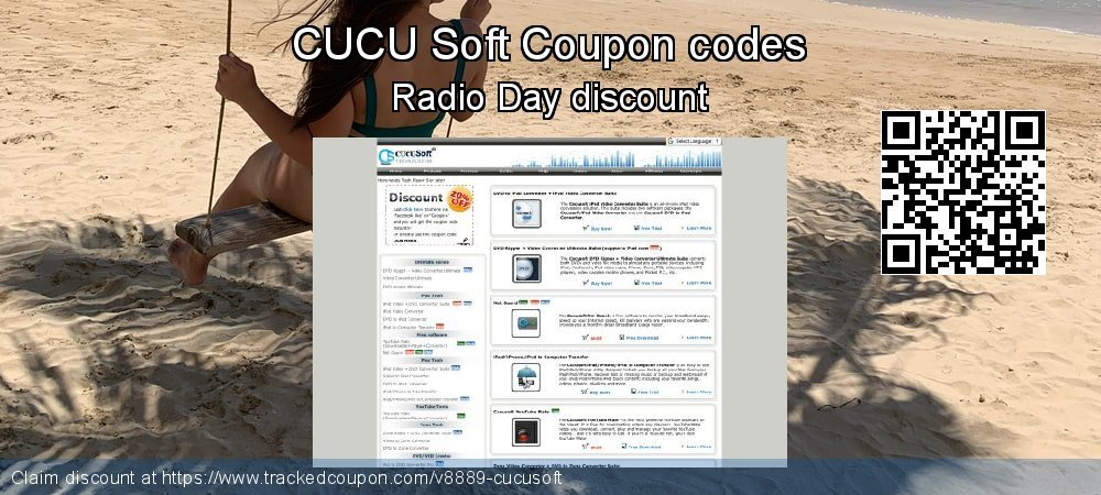 CUCU Soft Coupon discount, offer to 2020 April Fool's Day