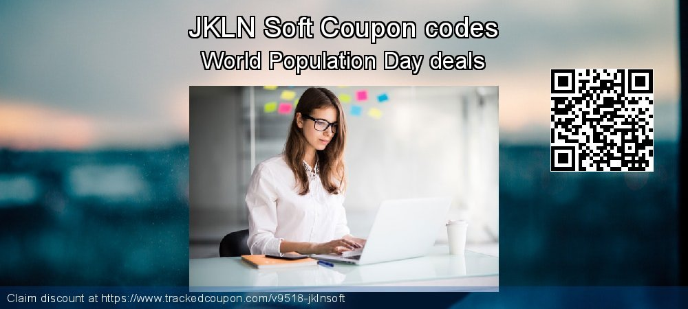 JKLN Soft Coupon discount, offer to 2018 Christmas & New Year